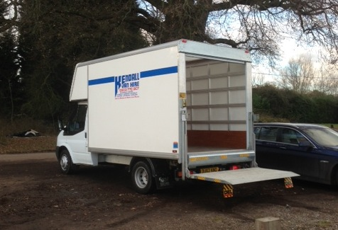 73c4d3f436 Hire a Luton Van with Tail Lift in London