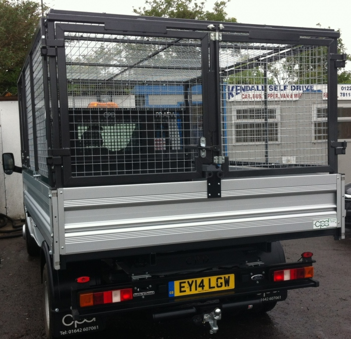 10 Ford Transit 15str Minibus: Transit Tipper With Cage